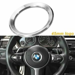 Steering Wheel Center Logo Emblem Cover For Bmw 1 3 4 5 7 Series X3 X5 X6 13 18