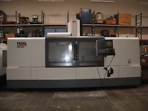2007 Fadal Vmc 8030 Ht Cnc Veritcal Mill Machine Center W Probe Fanuc Haas 6030