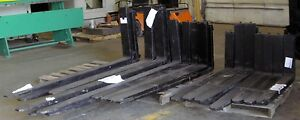 New Class Iv Forklift Forks 72 X 6 X 2 1 2