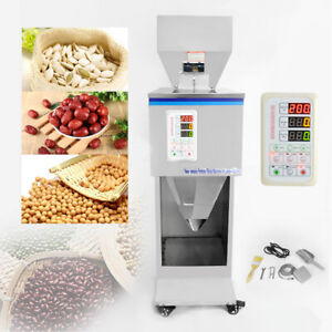 Automatic Powder Racking Filling Machine 10 999g Weigh Filler For Tea Seed Grain