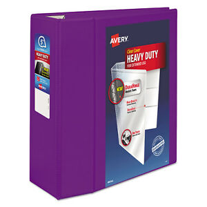 Avery Heavy duty 5 3 ring View Binder Ave79816