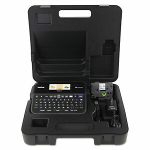 Brother P touch Pt d600vp Pc connectable Label Maker With Color Display And Car