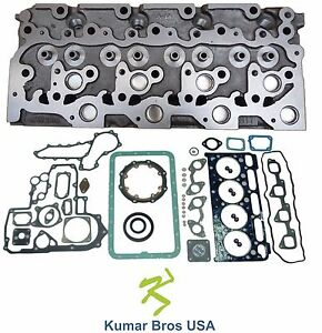 New Kubota V2003 m Diesel Cylinder Head Full Gasket Set