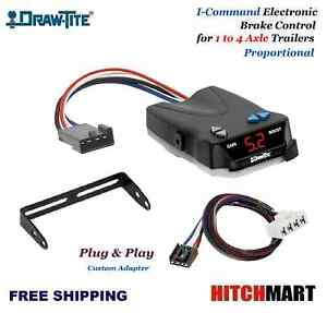 I Command Trailer Brake Control W Plug In Adapter For 1995 2009 Dodge Ram Pickup