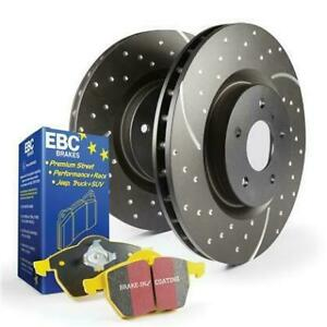 Ebc Brake Kit S5 Yellowstuff And Gd Rotors S5kr1283 Fits Ford 2012 2014 Ed