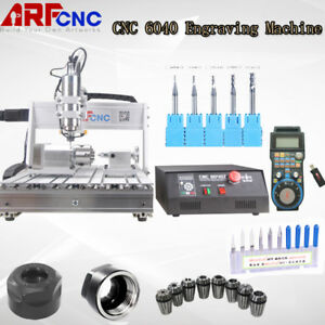 Usb Cnc 4axis 6040 2200w Cnc Router Engraver Engraving Milling Machine Mach3