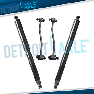 New 2 Rear Left right Shock Absorbers sway Bar End Links Ford Super Duty Trucks