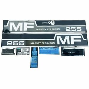 Decal Set For Massey Ferguson 255