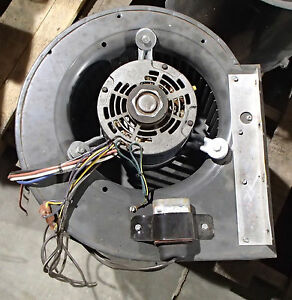 Hvac Blower Fan Assy W Fasco Mtr Type U26b1 5 33 75 Hp 60hz Ph1 Rpm1075 Used