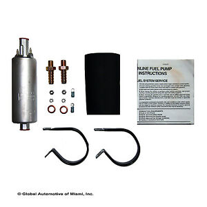 New Walbro 255lph Universal Inline External High Pressure Fuel Pump