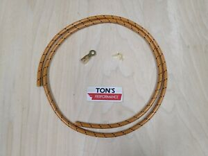 4 Ft Spark Plug Wire Hit And Miss Engine Ring End Maytag Gas Motor Ignition Orb