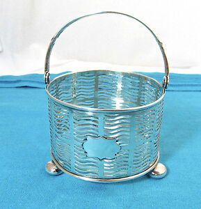 Antique Dominick Haff Pierced Sterling Silver Basket Pattern 1078
