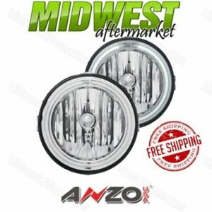 Anzo Inner Ccfl Halo Fog Lights Fits 2005 2009 Ford Mustang