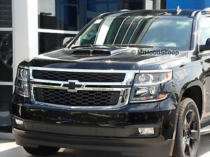 2001 2018 Hood Scoop For Chevrolet Tahoe By Mrhoodscoop Unpainted Hs002