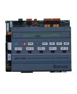 Notifier Afp 400 Fire Alarm Control Panel Replacement Board