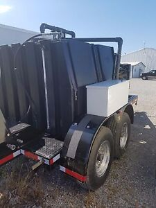 Jetter Trailer Sewer Equipment Model 545 High Pressure Sewer Cleaner Low Hours