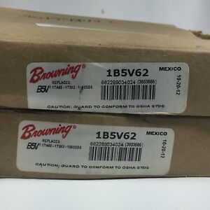 Lot Of 2 Browning 1b5v62 Upc 662289034024 1 Groove Pulley