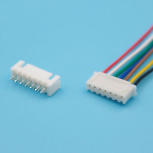 500 Set Xh2 54 Single head 7pin Wire To Board Connector 15cm 24awg With Socket