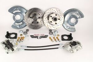 1964 73 Ford Mustang D S Disc Brake Conversion Kit Drum To Disc 11 D S Rotors