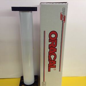 Oracal 651 1 Roll 24 X 10 Yd 30ft Gloss White Sign Vinyl By Precision62