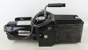 Sargent Welch Directorr 8811 Vacuum Pump With General Electric A c Motor