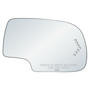 Chevy Gm Truck Suv Flat Replacement Rh Passenger Turn Signal Mirror Glass Lens