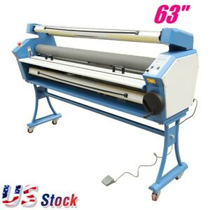 Us Stock 63 Entry Level Full auto Roll To Roll Wide Format Cold Laminator