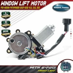 Window Lift Motor For Nissan Pathfinder 2005 2012 Front Left Driver W Anti clip