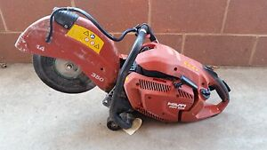 Hilti Dsh 900 Gas Powered Demolition Saw 14 Concrete Cutting Saw Cut Off Saw