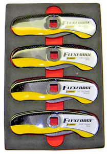 4 Piece Flex Force Snap On Brake And Fuel Line Wrench Key Set Xforce Ff204 Lw204