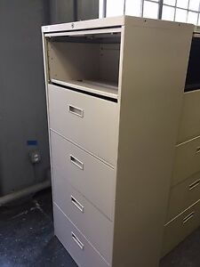 Steelcase 5 Drawer Laterals 30 Keys Included