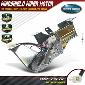 Rear Windshield Wiper Motor For Subaru Forester 2006 2008 28710cg000 86510sa160