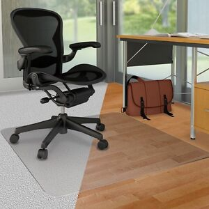 Deflecto Doumat Mat Carpet hard Floor 46 x60 Clear Cm23442fduo