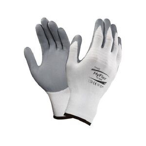 Ansell Hyflex Foam Nitrile Coated Palm Gloves 11 800 Size 9 12 Pair 1 Dozen