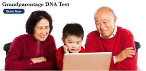 Grandparent Dna Testing Home Kit Or Office Visit Free Overnight Shipping