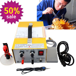 Pulse Sparkle Spot Welder Gold Silver Platinum Jewelry Welding Machine Device