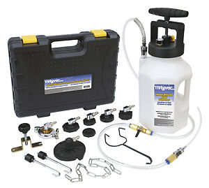 Mityvac Mv6840 Pressure Bleed Brake Bleeder Kit