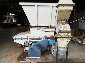 Vecoplan Rg 42 30 Swu Low Speed Rotary Wood Grinder