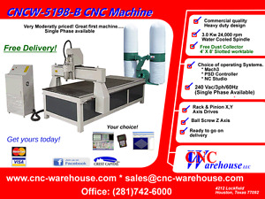 Cnc Warehouse Cnc Router engraver 3d Carver Model Cncw 5198b