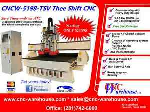 Cnc Warehouse Cnc Router engraver 3d Carver Model Ghidorah Pro Jr