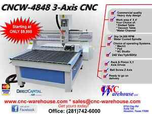 Cnc Warehouse Cnc Router engraver 3d Carver Model Cncw 4848 b