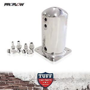 Fuel Surge Tank Swirl Pot Suit Bosch 044 1 5lt An Barb Fittings Included