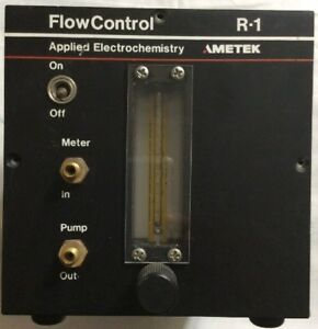 Ametek R 1 Flow Control For Oxygen Analyzer Free Shipping