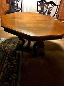 Cool Mid Century Octagon Table