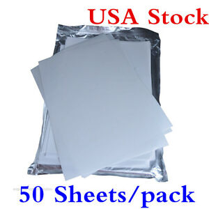Usa Stock 50 Sheets pack A4 Size 3d Sublimation Heat Transfer Press Film