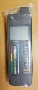 General Tools Mmd7003 Digital And Led Precision Moisture Meter New