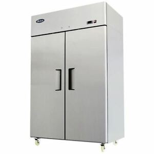 Atosa Mbf8002 52 Reach In Freezer 2 Doors Top Mount Commercial Freezer