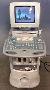 Acuson Sequoia 512 Ultrasound Machine W acuson 6l3 Transducer Medical Imaging