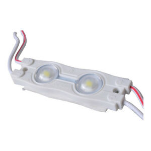 Smd 2835 Waterproof Led Module 2 Led Chips With Optical Lens White Light