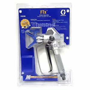Graco 288486 Airless Ftx Spray Gun With Ltx515 Tip 246215 Rac X Tip Guard